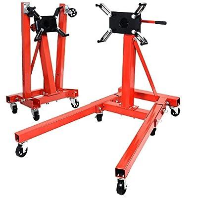 2000 lb Engine Motor Stand Hoist Auto Car Truck Automotive Folding Shop Jack