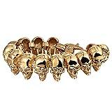 Best Adisaer Mens Bracelets - Adisaer Stainless Steel Mens Gold Bracelet for Men Review