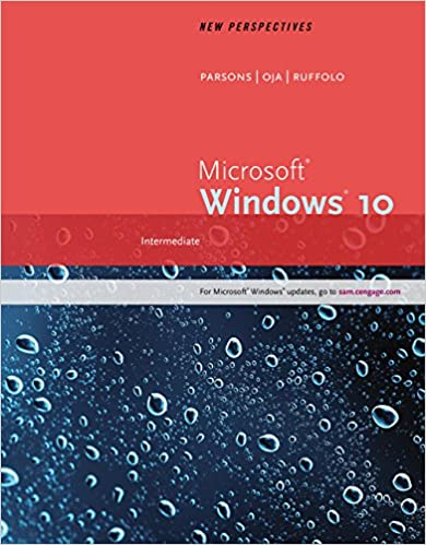 Book New Perspectives Microsoft Windows 10