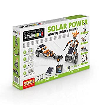 Engino Stem Solar Power Solar Power Kits at amazon