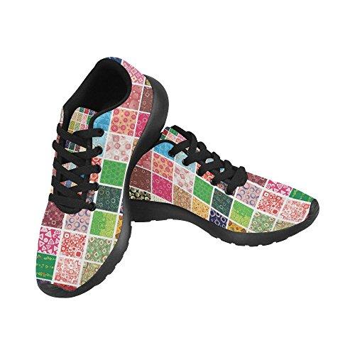 Scarpe Da Corsa Da Donna Di Interestprint Scarpe Da Jogging Leggere Sportive A Piedi Sneakers Sportive Colore Astratto