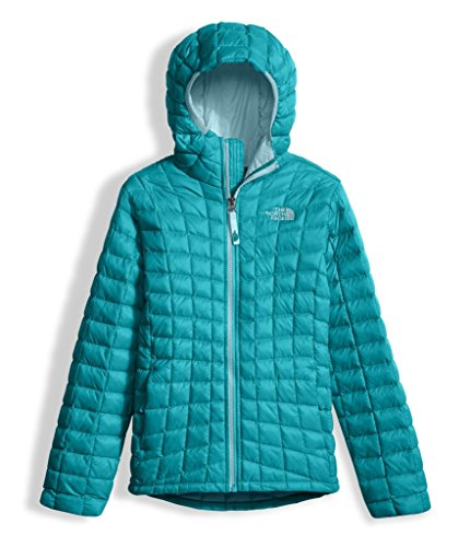 The North Face Girls Thermoball Hoodie Algiers Blue (X-Large) by The North Face