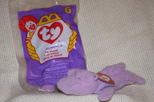 HAPPY the Hippo - Ty Teenie Beanie Babies