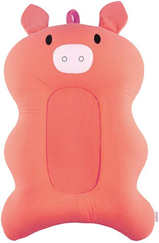 Newborn Baby Foldable Bath Tub Pad Infant Safety Shower Antiskid Cushion Net Mat
