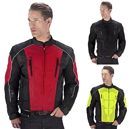 Red Motorcycle Jacket Men - 1