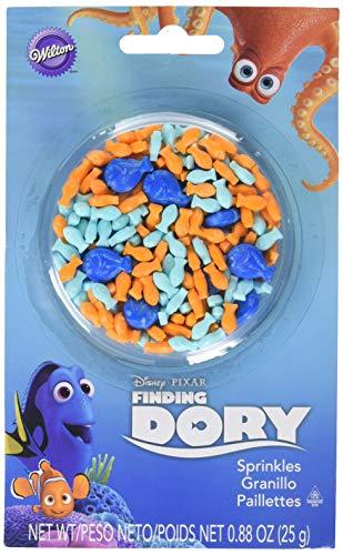 - Wilton Industries 710-4648 Disney Pixar Finding Dory Sprinkles, Multicolor