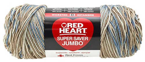 RED HEART Super Saver Jumbo Yarn, Mirage