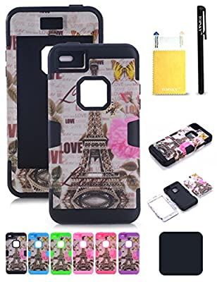 """TOPSKY Three Layer Heavy Duty High Impact Resistant Hybrid Protective Cover Case For iPhone 6/6s Plus (Only For 5.5"""")"""