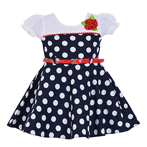 a3db1c98ba Wish Karo Baby Girls Cotton Frock Dress - (ctn053nb) - Buy Online in Qatar.