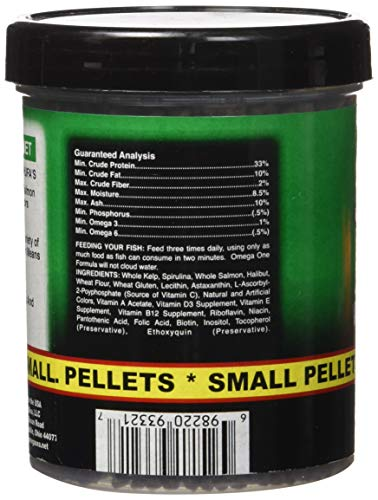 Pictures of Omega One Super Veggie Pellets Small 3.5oz SHOMHNK004 3
