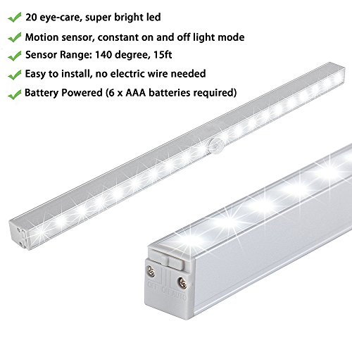 LED Closet Light Lofter 20 LED Wireless Motion Sensor