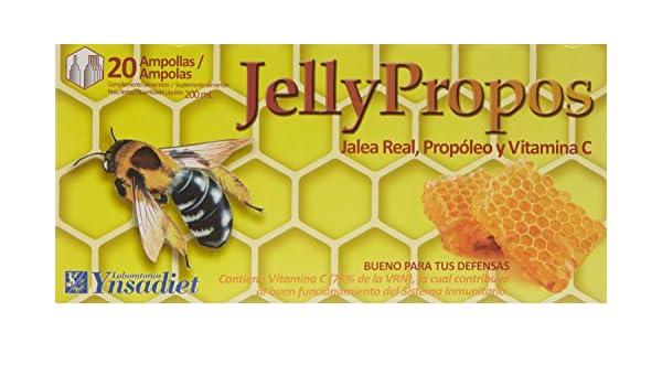 Ynsadiet Jelly Propos de Jalea - 20 Ampollas: Amazon.es: Salud y cuidado personal