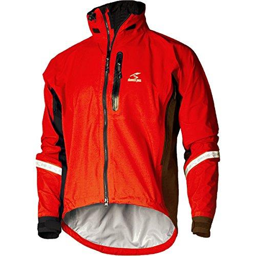 (Showers Pass Elite 2.1 Jacket - Men's Cayenne Red, M)
