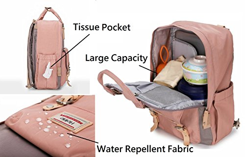 e65e38f749 Heine Diaper Backpack Mommy bag Mother bag Travel Backpack Quality Diaper  Bag Daypack Multi-Function