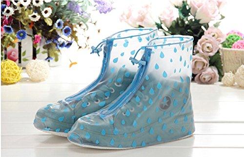 Pluie Couvre Bottes Imperméables De chaussures Temptation Antidérapants Couvre Black Multicolore03 w84vOTqq