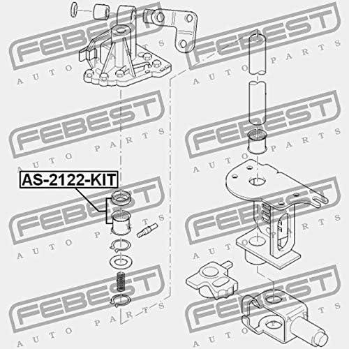 Febest AS-2122-KIT BALL BEARING KIT