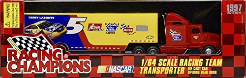 Racing Champions 1997 NASCAR - Terry Labonte #5 - Alka Seltzer Racing Team Transporter - 1:64 Scale Die Cast Metal - OOP - New - Collectible ()