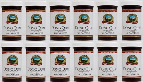 Naturessunshine Dong Quai Herbal Food Supplement 520 mg 100 Capsules (Pack of 12) by Nature's Sunshine