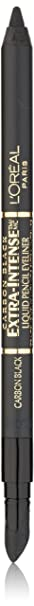 L'Oreal Paris Extra-Intense Liquid Pencil Eyeliner, Carbon Black, 0.03 Ounces