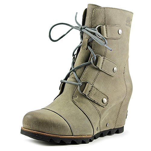Sorel Womens Joan of Arctic Wedge Mid Boot Dark Fog Size 9 (Artic Joan Of Boots)