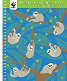 WWF Sloths Monthly Planner 2018
