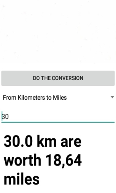 Amazon Miles To Kilometers Converter Appstore For Android