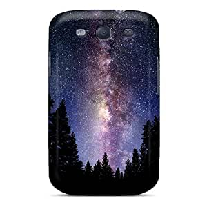 High Quality Shock Absorbing Case For Galaxy S3-the Milky Way