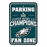 NFL Philadelphia Eagles Super Bowl Champ Parking Sign, One Size, Green