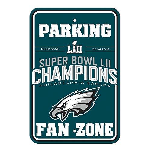 Fremont Die NFL Super Bowl Champ Parking Sign, One Size, Blue by Fremont Die