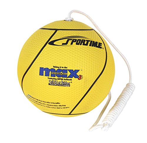 SportimeMax Tetherball, Yellow by Sportime