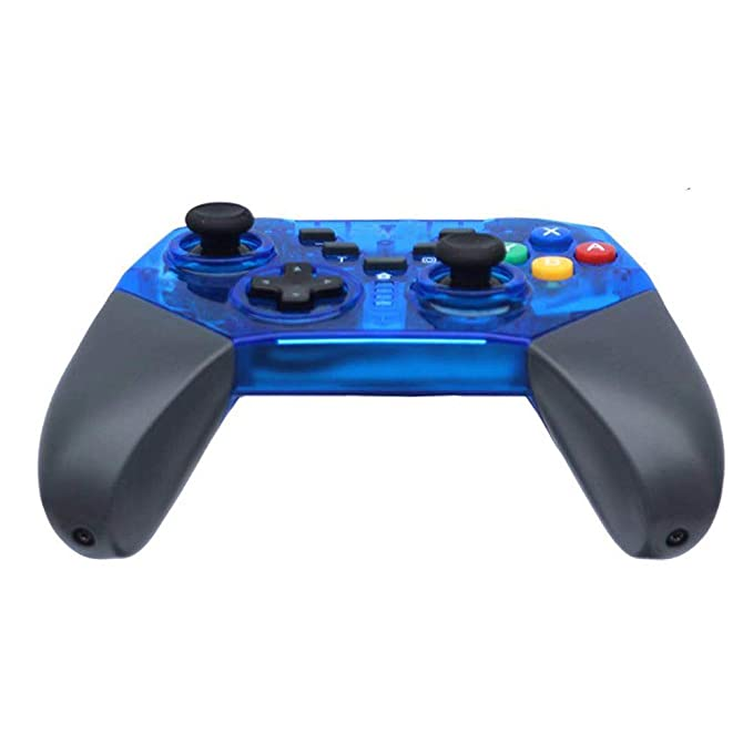 JFUNE Mando Inalámbrico para Nintendo Switch, Wireless Pro Switch Controller Controlador Bluetooth Gamepad 7.0 (Azul Switch Controller): Amazon.es: ...