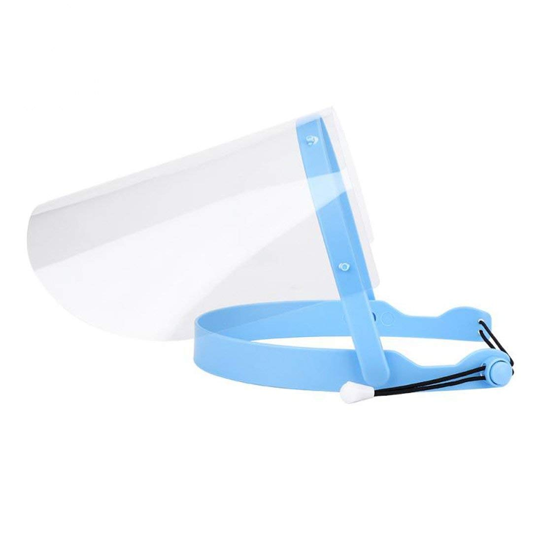 New Adjustable Full Face Shield (2.0) with 10 Plastic Protective Film by Pwhite
