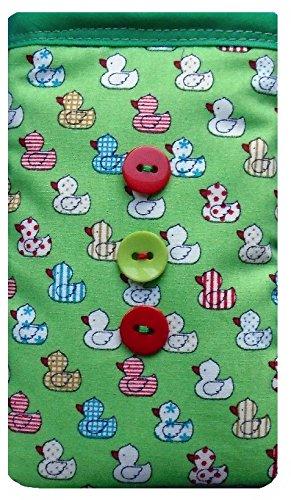 Grün quacky Ente Print Apple iPhone 3G oder 3GS Socke/Case/Cover/Tasche
