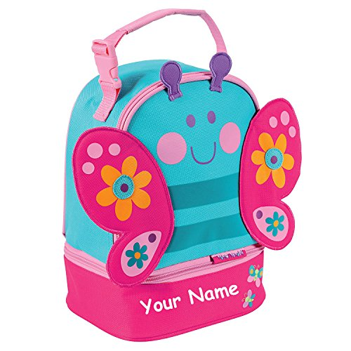 Stephen Joseph Personalized Butterfly Lunch Pals Lunch Box Bag