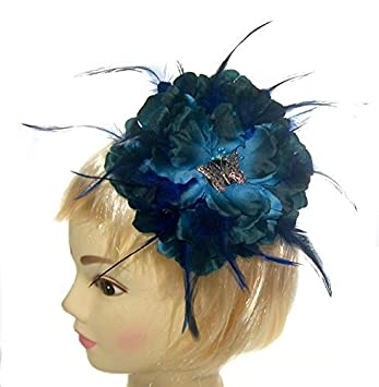 Image Unavailable. Image not available for. Color  Giant flower fascinator  ... 47990a70263