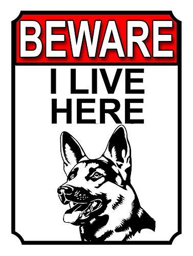 ここに住んでいることに注意してください 金属板ブリキ看板注意サイン情報サイン金属安全サイン警告サイン表示パネル