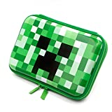 Boys Cute School Supply Organizer Cool Pencil Case Box Holder Bag With Zipper For Kids (Green) (SOOCUTE)
