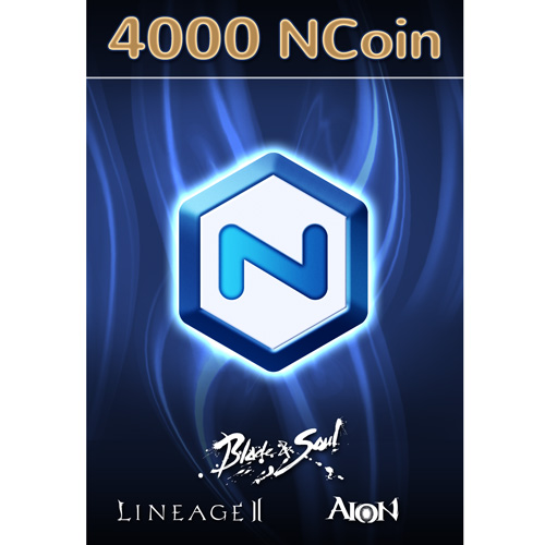 Software : NCsoft NCoin 4000 [Online Game Code]