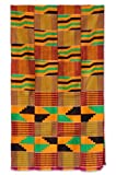 NOVICA Multicolor Cotton Kente Cloth, 'Waves'