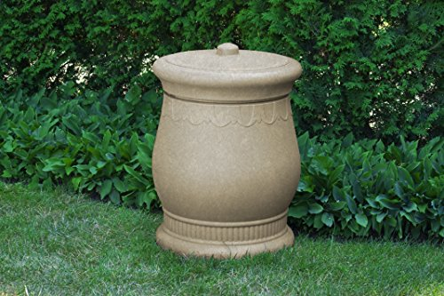 Good Ideas SV-URN-SAN Savannah Storage Urn, Sandstone