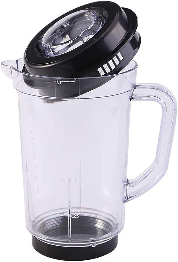 Mezclador de jarra con tapa, licuadora licuadora Piezas de ...