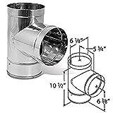 6 inch stove pipe damper - DuraVent 6DBK-TSS 6