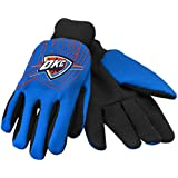 NBA Oklahoma City Thunder 2014 Raised Logo Gloves, Blue