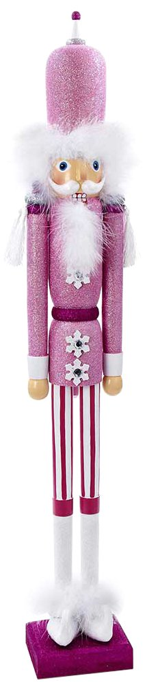 Kurt Adler Hollywood Nutcracker, 17-Inch, Turquoise/White HA0152