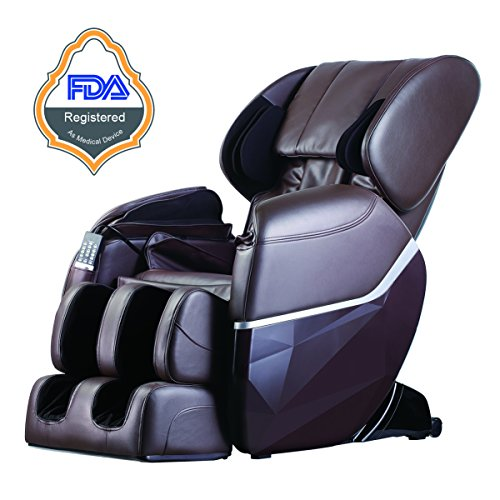 New Electric Full Body Shiatsu Massage Chair Recliner Zero Gravity w/Heat (Chair Massage New)
