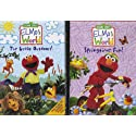Elmo's World 2 Pack : The Great Outdoors , Springtime Fun