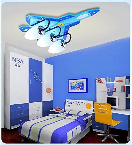 Kreatives Flugzeug Licht Boy Zimmer Lichter Augenpflege Cartoon Kinder Lichter Schlafzimmer Lichter Deckenleuchten E14