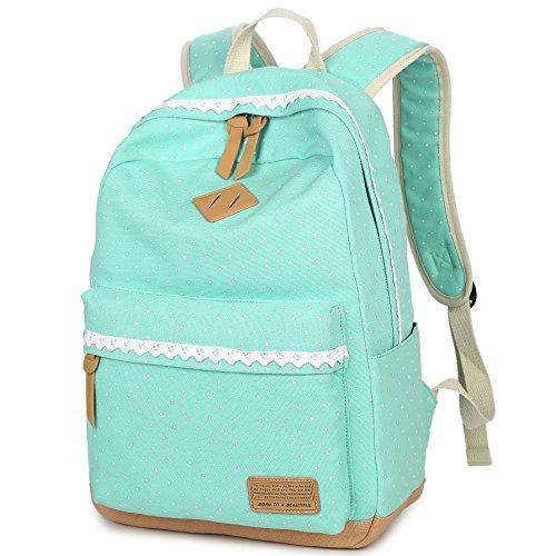 Tela Zaino Delle Hery I Ragazze Di Daypacks Viaggio Scuole Zaini Verde Bambini Laptop x4xwUaqH
