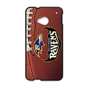 The NLF Ravens Team Custom Case for HTC One M7(each team has in my store.You can search to the team you want to )
