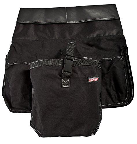 Dickies Work Gear 57063 Black 12-Pocket Bucket (Hip Alignment Belt)